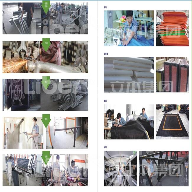 蹦床生产工艺展示